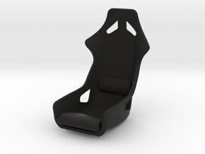 Race Seat HM-EVO - 1/10 in Black Natural Versatile Plastic