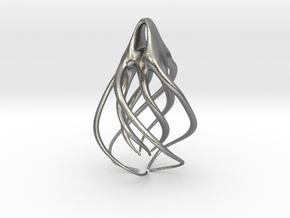 Spiral  in Natural Silver