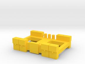 Bat Belt in Yellow Processed Versatile Plastic