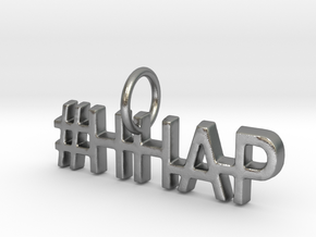 #HHAP Pendant in Natural Silver