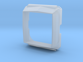 Timesquare wordclock housing in Smooth Fine Detail Plastic