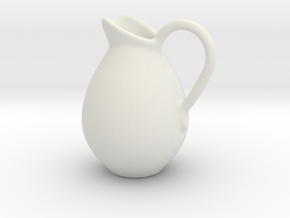 Pitcher Hollow Form 2016-0004 various scales in White Natural Versatile Plastic: 1:12