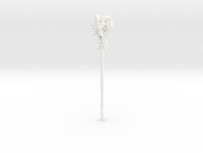 MovieSkeletorStaffVintageSize in White Strong & Flexible Polished