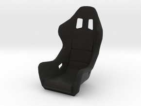 Race Seat FType - 1/10 in Black Natural Versatile Plastic
