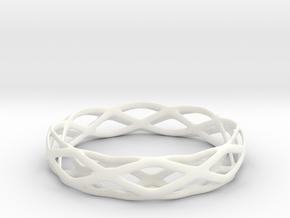 Magic Bracelet in White Processed Versatile Plastic