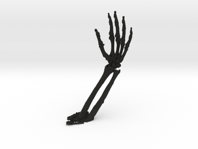 model of wrist in Black Strong & Flexible: 1:10