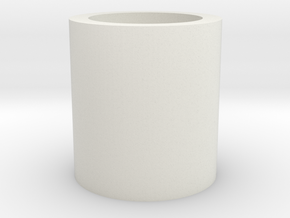 Barrel/Hop Up Spacer 13mm in White Natural Versatile Plastic