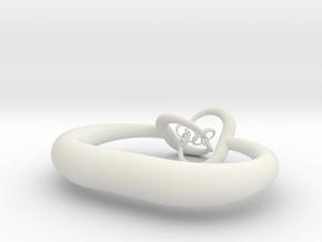 Horned sphere (fat) in White Strong & Flexible