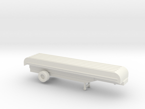 1/200 Scale Pontoon Bidge Trailer in White Natural Versatile Plastic