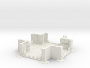 Imperial Assault tile 26A in White Natural Versatile Plastic