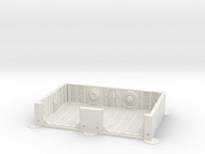 Imperial Assault tile 06A in White Natural Versatile Plastic