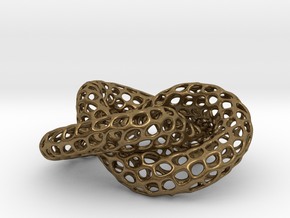 The other Klein bottle (triple twist) in Natural Bronze