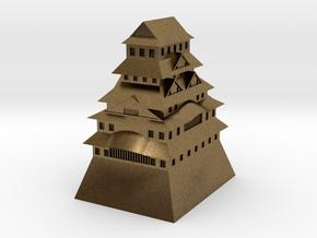 Himeji Castle in Natural Bronze