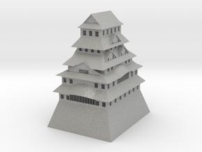 Himeji Castle in Aluminum