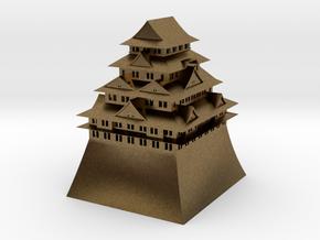 Nagoya Castle in Natural Bronze
