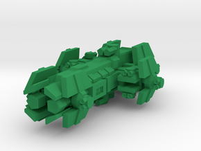 Colour Confederation Strike Carrier in Green Processed Versatile Plastic