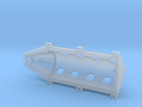 OX5-16 Scale-Upper Crankcase in Smooth Fine Detail Plastic