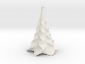 Non-scale Tabletop Christmas Tree in White Natural Versatile Plastic