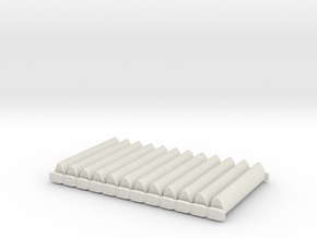 300 X Scales - On Runners in White Natural Versatile Plastic
