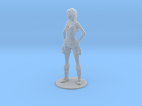 1/20 Tomb Raider Figurine in Smooth Fine Detail Plastic