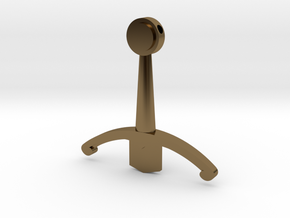 Family F in Polished Bronze