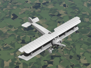 Fokker D.III (with ailerons) in White Strong & Flexible: 1:144
