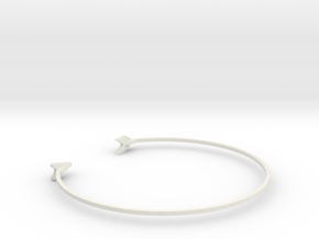 wristband in White Strong & Flexible