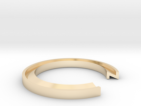 Z Ring in 14K Yellow Gold: 13 / 69