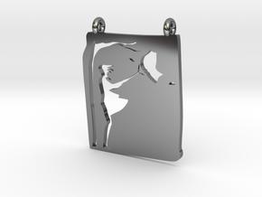 WindMesh in Fine Detail Polished Silver