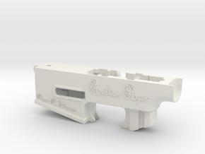 Arsillian Rogue Series - Lower Reciever (Springer) in White Natural Versatile Plastic