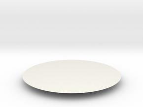 share in White Natural Versatile Plastic: Medium