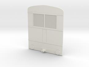 1:72 Back1 in White Natural Versatile Plastic