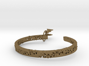 Forest Of The Hand Ring in Polished Bronze