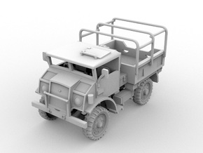 Chevrolet CMP C15A Cab No.13 GS(1:56 Scale) in White Strong & Flexible