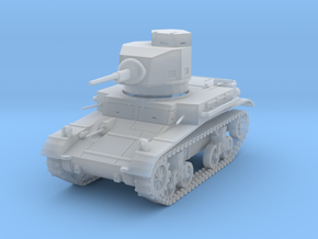 PV47E M2A4 Light Tank (1/87) in Smooth Fine Detail Plastic
