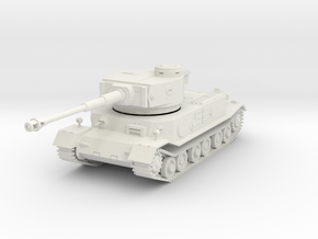 PV161A VK4501(P) Porsche Tiger (28mm) in White Natural Versatile Plastic