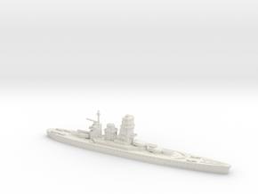 IJN Fujimoto 1/1800 (Fujimoto's Treaty Battleship) in White Strong & Flexible