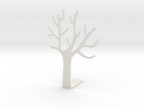 Forest Book Block 03 in White Natural Versatile Plastic