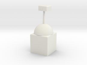 American  Trophy in White Natural Versatile Plastic