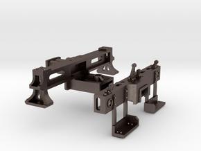Tender Frame Sills in Polished Bronzed Silver Steel