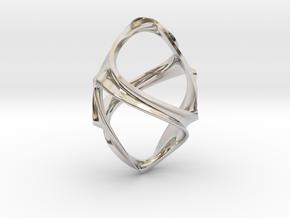 Eearring Ornament in Platinum