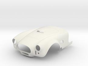AC Cobra Mk3 Scale 1/4 in White Natural Versatile Plastic