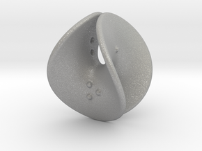 Enneper D4 (negative counterweights) in Aluminum: Extra Small