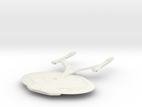 Enterprise J  Refit  V in White Natural Versatile Plastic