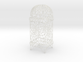 Wire Table Lamp Design Moroccan L in White Strong & Flexible