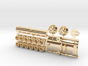 Sealab and other parts for Y-wing  in 14K Yellow Gold