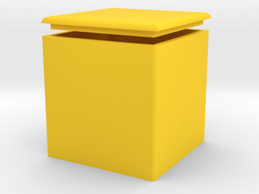 Storage chairs in Yellow Strong & Flexible Polished
