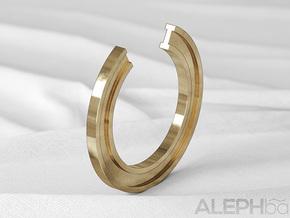 I Ring in Natural Bronze: 6 / 51.5
