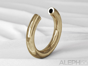 O Ring in Natural Bronze: 6 / 51.5