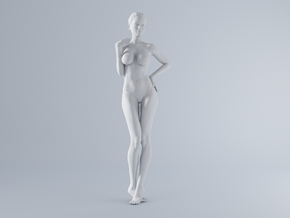 Mini Sexy Woman 012 1/64 in Frosted Ultra Detail: 1:64 - S